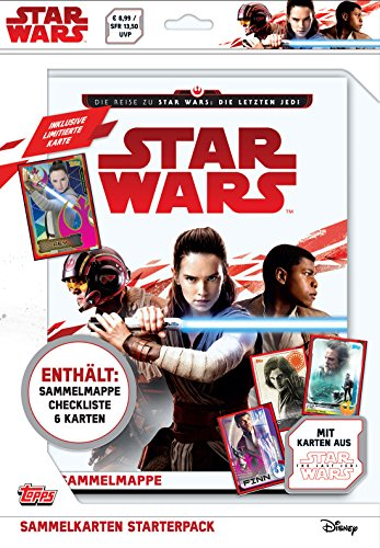Force Attax sw181 Star Wars Episode VIII. – Starter Kit