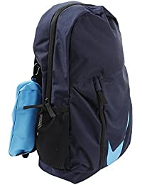 Nike 25 Ltrs Obsidian Black Equator Blue School Backpack (BA5405-452) 15154f9bd927f