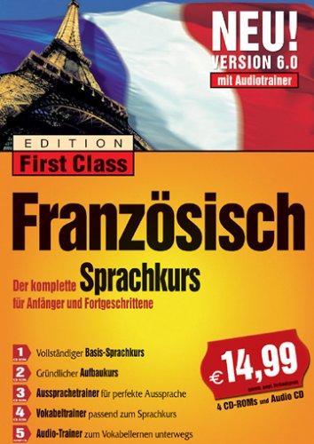 First Class Sprachkurs 6.0 Französisch (DVD-Box)