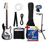 Rocktile Groover's Pack PB E-Bass Set III Black
