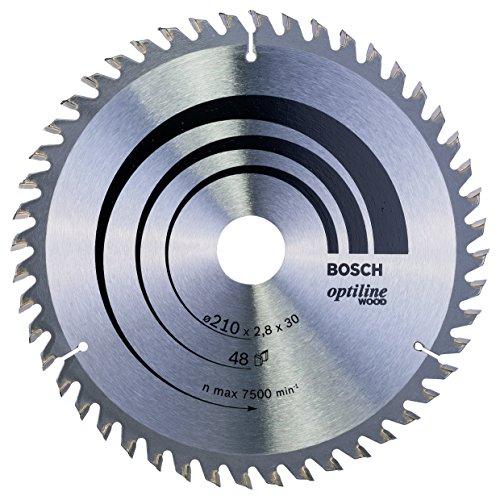 Bosch Professional Kreissägeblatt (für Holz, AußenØ: 210 mm, Bohrung: 30 mm, Zubehör für Handkreissäge)