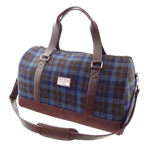 Authentisch Harris Tweed Wochenende-Reisetasche LB1026 - Farbe 40, 33cm H x 52cm W x 30cm D -