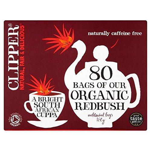 Clipper Redbush Organic Influsion 80 par paquet