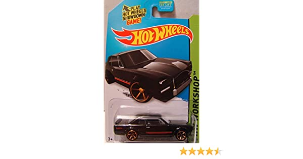 HOT WHEELS THEN AND NOW 2014 SERIES BLACK NISSAN SKYLINE H//T 2000GT-X WITH OUT ROLL CAGE VARIANT Mattel