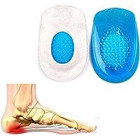 Mofun Fußsohlenentzündung Fersenkissen Einlegesohlen Schuheinlagen Gel Pads Einpaar für Männer preisvergleich bei billige-tabletten.eu