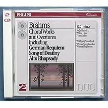 BRAHMS: Choral Works & Overtures / Sawallisch, Vienna Symphony Orchestra, Lipp, Crass, Heynis