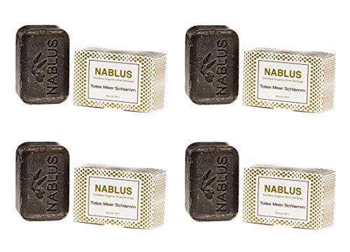 Savon à l'huile naturelle Dead Sea Mud 4 x 100 g en kit