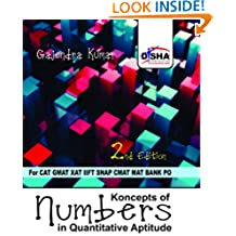 Koncepts of Numbers for Quantitative Aptitude in CAT, GMAT, XAT, CMAT, IIFT, Bank PO 2nd Edition