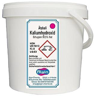 Algin Ätzkali - Kaliumhydroxid - 5 kg Eimer- Potassium Hydroxide -