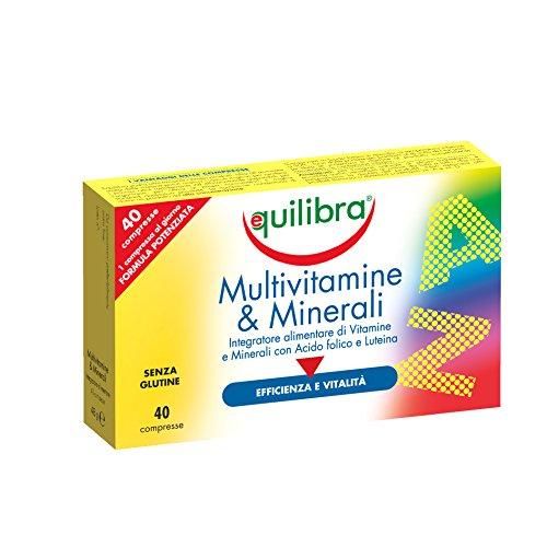 Equilibra - Multivitamine & Minerali, 40 Compresse