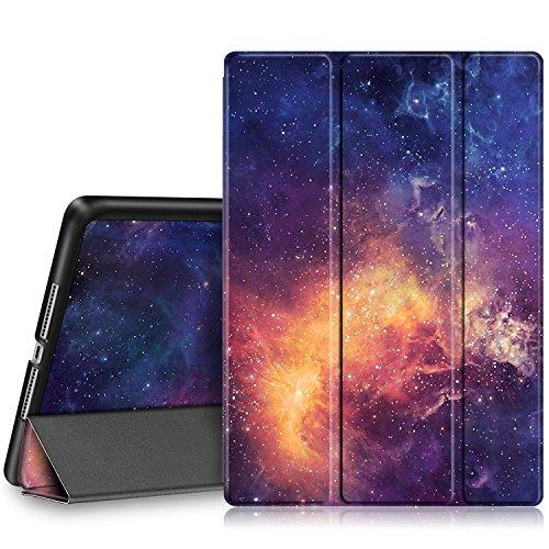 Fintie Nuovo iPad 9.7 Pollici 2018 2017, iPad Air 2, iPad Air Custodia - Sottile Leggero Cover Protettiva Case con Auto Sveglia/Sonno funzione, Galaxy