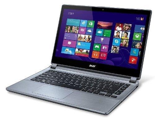 Acer V5-473 4th Gen Core i5 500GB HDD 4GB RAM webcam Windows 8 Laptop