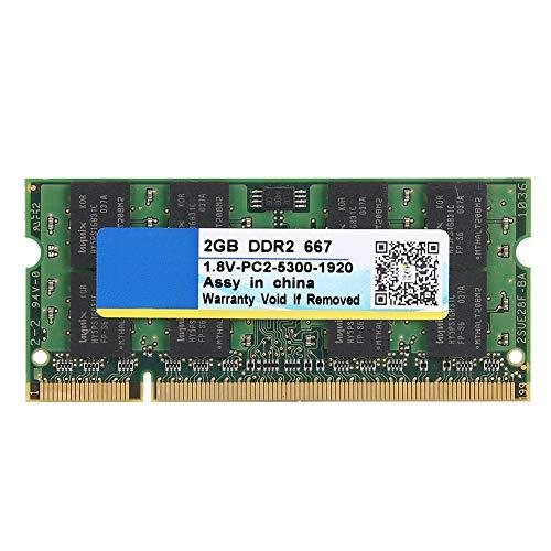 DDR2 667MHz 2GB 200Pin für PC2-5300 Laptop Motherboard Speicher RAM für Intel/AMD -