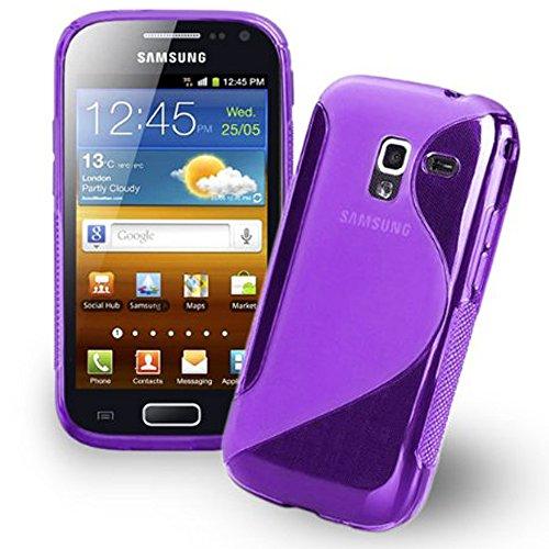 Custodia cover custodia ribaltabile in similpelle per Samsung Galaxy Ace 2I8160