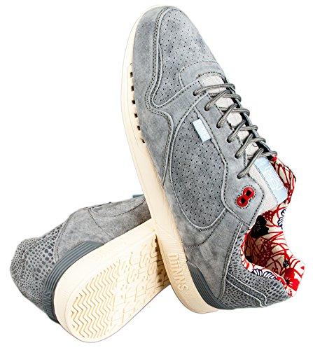 Djinns , Chaussures de course pour homme Gris