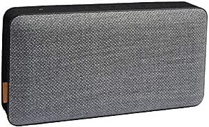 Sackit Moveit X Bluetooth Lautsprecher Mit Bis Zu 12 Stunden Laufzeit Und Ladefunktion Musikbox Mit Wechselbarem Design Wireless Lautsprecher Für Zuhause Und Unterwegs Grau Audio Hifi