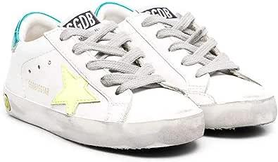 Golden Goose Luxury Fashion Ragazza GJF00101F00117510521 Bianco Pelle Sneakers | Stagione Permanente