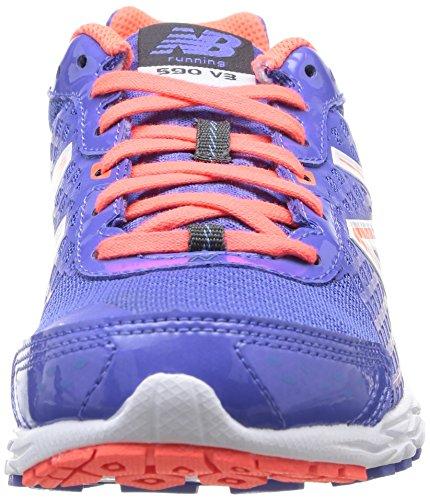 New Balance - W590 B V3, Scarpe Da Corsa da Donna Viola (Pb3 Purple/Pink)