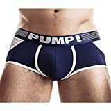 PUMP! Access Trunk Navy Jockstrap Bottomless