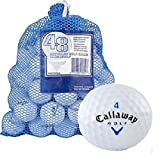 Callaway 48 AAA+ Ball Bag with HX Tour Mix Recycled Golf Balls, White by Callaway