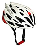 AWE® AWESpeed™ In Mould Casco de ciclismo en ruta para hombres adultos 58-61cm Blanco, rojo