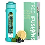 Best Outdoor Products Fruit Infused Water Bottles - Fresh Fusions Fruit Glass Infuser Water Bottle Fruit Review