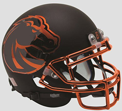 Schutt NCAA Boise State Broncos Mini Authentic XP Football Helmet, Halloween Alt. 7