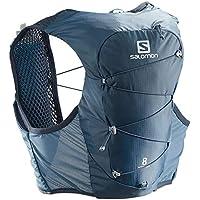 SALOMON Active Skin 8 Set Chaleco, Unisex Adulto, Copen Blue/Dark Denim, XL