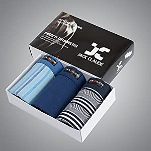 ZHFC-männer boxershorts 3 pack baumwolle hüfthosen körper styling