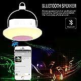 ELINKUME® Drahtlose Bluetooth Lautsprecher Lampe, Multifunktionale Hallenbad Outdoor Beleuchtung(Camping Lampe + Radio + Musik-Player + Kleine Nacht Licht),Buntes Dimmen, 3 Helligkeit Justierbar