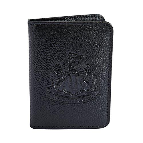 Newcastle United FC officiel - Portefeuille en cuir thème football - blason embossé - voyage