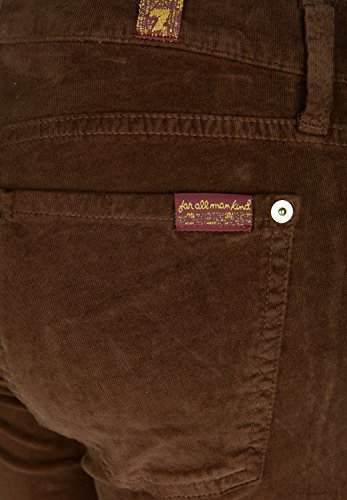 7 FOR ALL MANKIND Damen Jeans THE SKINNY BOOTCUT CORDUROY Chocolate