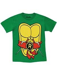 Mighty Fine TMNT Teenage Mutant Ninja Turtles Raphael Costume Green T-shirt T...