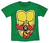TMNT Teenage Mutant Ninja Turtles Raphael Kostüm Grün Erwachsene T-shirt Tee (Medium)