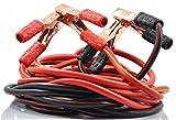 xincol Schwerlast 1-Messgerät Ultra 2500 A 100% Kupfer, Drahtbrücke, Starthilfekabel für LKWs, wärmeisoliert mit kostenloser Tasche, 3,04 m.