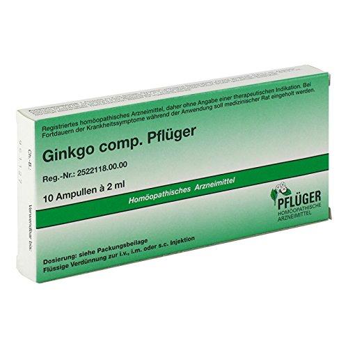 Ginkgo Comp.Pflüger Ampullen, 10 St