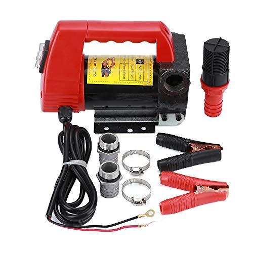 Pompa di trasferimento, Pompa Gasolio ,175 W, 12V, 40 L/min, per Auto/Moto/Veicolo, Pompa di erogazione portatile di carburante, Potente