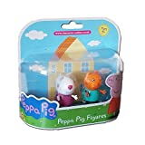Used, Peppa Pig Suzy Sheep & Candy Cat Twin Figure Pack for sale  Delivered anywhere in Ireland