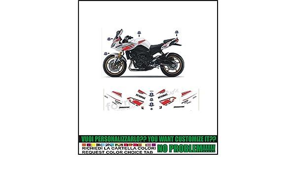 Kit adesivi decal stikers YAMAHA FZ8 2012 2015 INDICARE IL MODELLO A o B o C o D