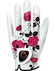 Easy Glove Spring_flora-Red-w Gant de Golf Femme