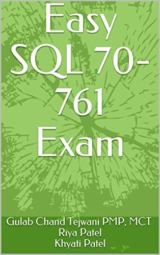 Easy SQL 70-761 Exam