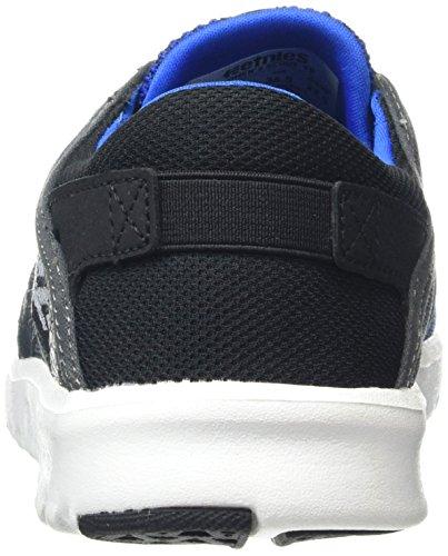 Etnies Scout Yb, Scarpe De Skateboard Uomo Blu (noir / Bleu / Gris)