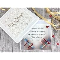 Geldgeschenk zur Hochzeit PERSONALISIERT Ornament