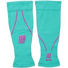CEP de compresión Calf Sleeves, Unisex, WS450, Lagoon/Pink, Size III