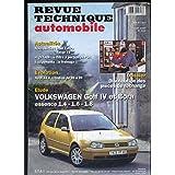 revue technique automobile n°618 : volkswagen golf IV et BOra essence 1.4 - 1.6 - 1.8