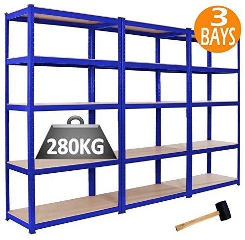 3-x-racking-bays-90cm-x-180cm-x-45cm-5-tier-shelving-bays-storage-shelf-unit-warehouse-garage-heavy-