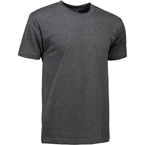 Pionier 41148-M T-Shirt 510 T-Time Größe M, Graphit Meliert, M