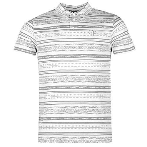 ocean-pacific-herren-aztec-print-polo-shirt-kurzarm-freizeit-polohemd-baumwolle-white-sand-extra-lge