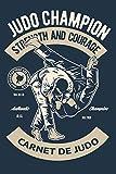 Carnet De Judo: Carnet de notes pour passionné d'art martial et sport de combat - journal original et pratique au quotidien   130 pages    format 15,24 x 22,86 cm