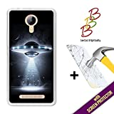 Coque Gel pour Leagoo Z5 - Z5 LTE, [ +1 Protecteur d'écran Verre Trempé ] Coque Etui Housse Silicone TPU 3B, protège et s'adapte a la perfection a ton Smartphone - OVNI.